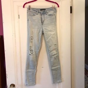 Abercrombie&Fitch never been worn skinny jeggings